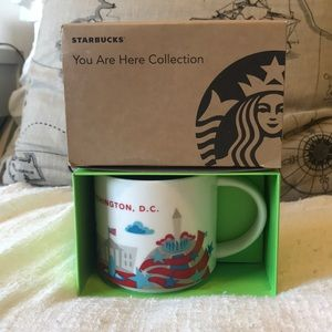 Starbucks You Are Here Collection Washington DC